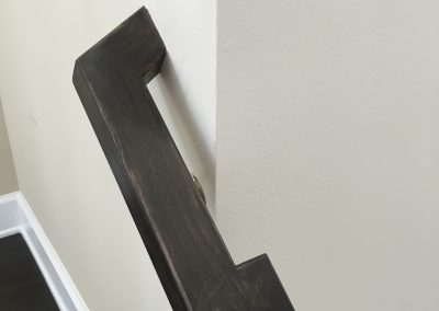 S-Turn Rectangular Handrail Maple